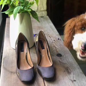 BCBG Brown Heels